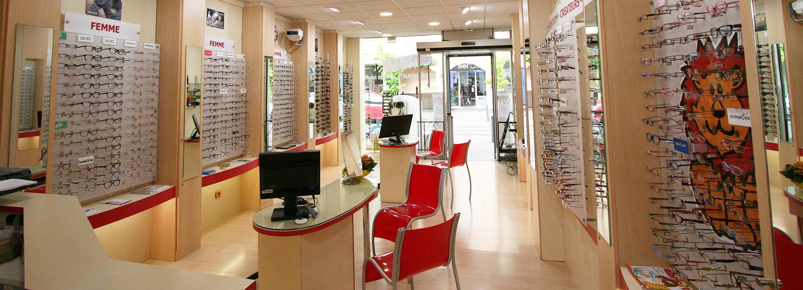 magasin confort optique aulnay sous bois interieur